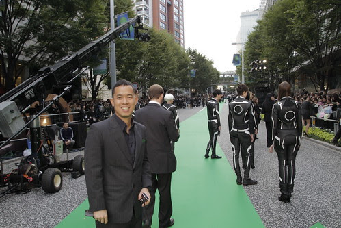 Ming Jin at the Green Carpet Event (Tokyo Intl Film Fest 2010)
