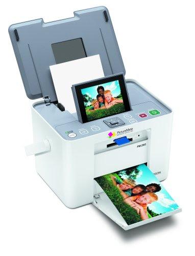 Epson Picturemate Dash Pm 260 Color Ink Jet Printer 20 Sheets