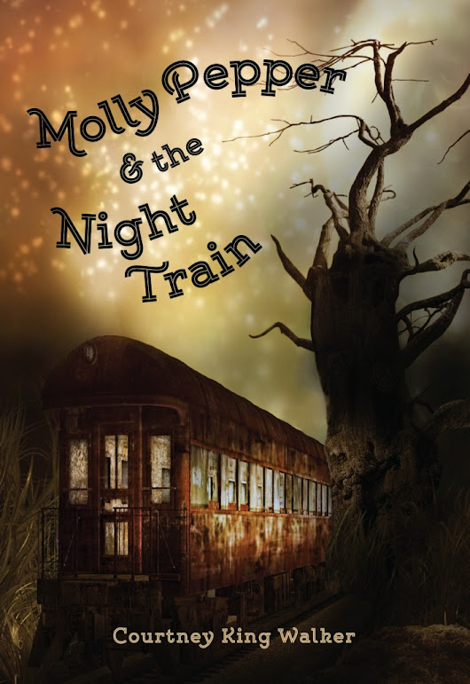 {Cover Reveal | Giveaway}  Molly Pepper and the Night Train By Courtney King Walker  |  A Leisure Moment