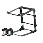 Odyssey Lstandm Mobile Folding Laptop Stand With Table/Case Clamps