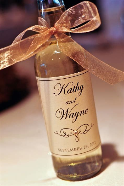 Mini Wine Bottle Labels Wedding   Posted by Kindly R.S.V.P