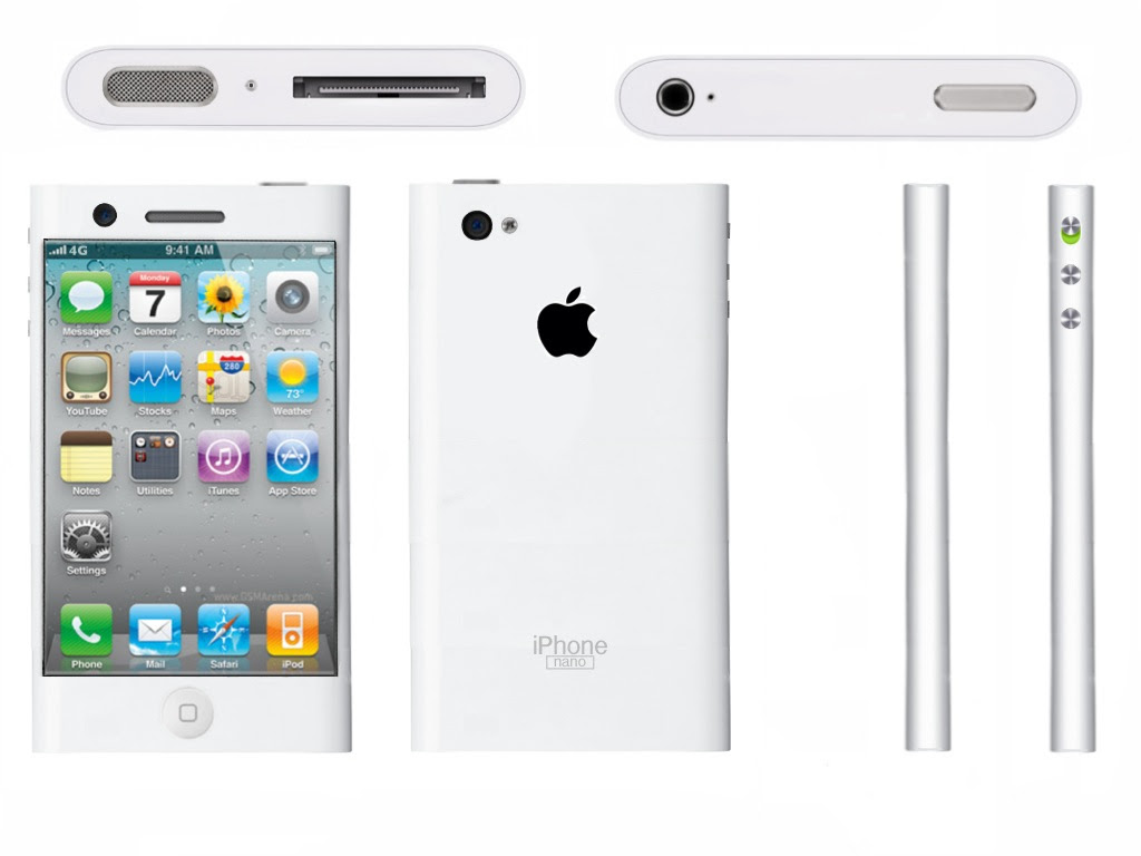 iPhone Nano Concept Created by Dallas Bradshaw