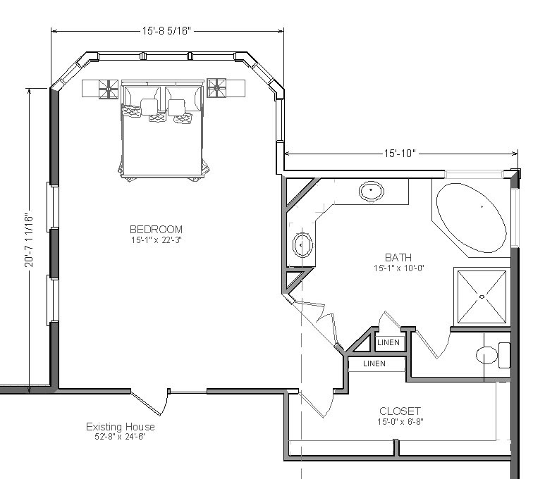 TWO MASTER SUITE FLOOR PLANS – Find house plans