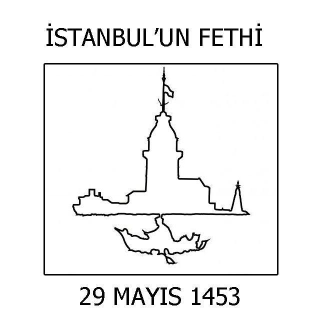 29 Mayıs Istanbulun Fethi Boyama Sayfaları Sayfa 2 2