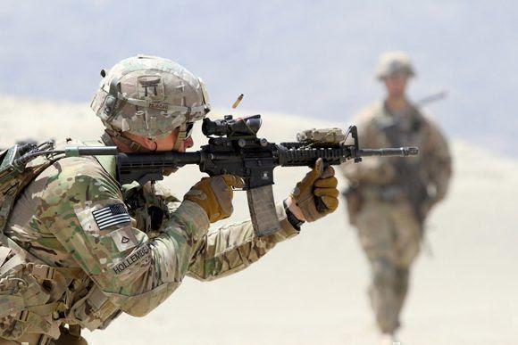 """Un """"desastre"""" del Ejército de EE.UU. es la dispersión de casi 200 mil soldados en África, Asia y Oriente Medio. Foto: The National Interest."""