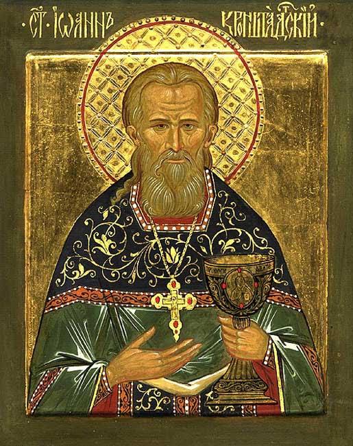 IMG ST. JOHN of Kronstadt