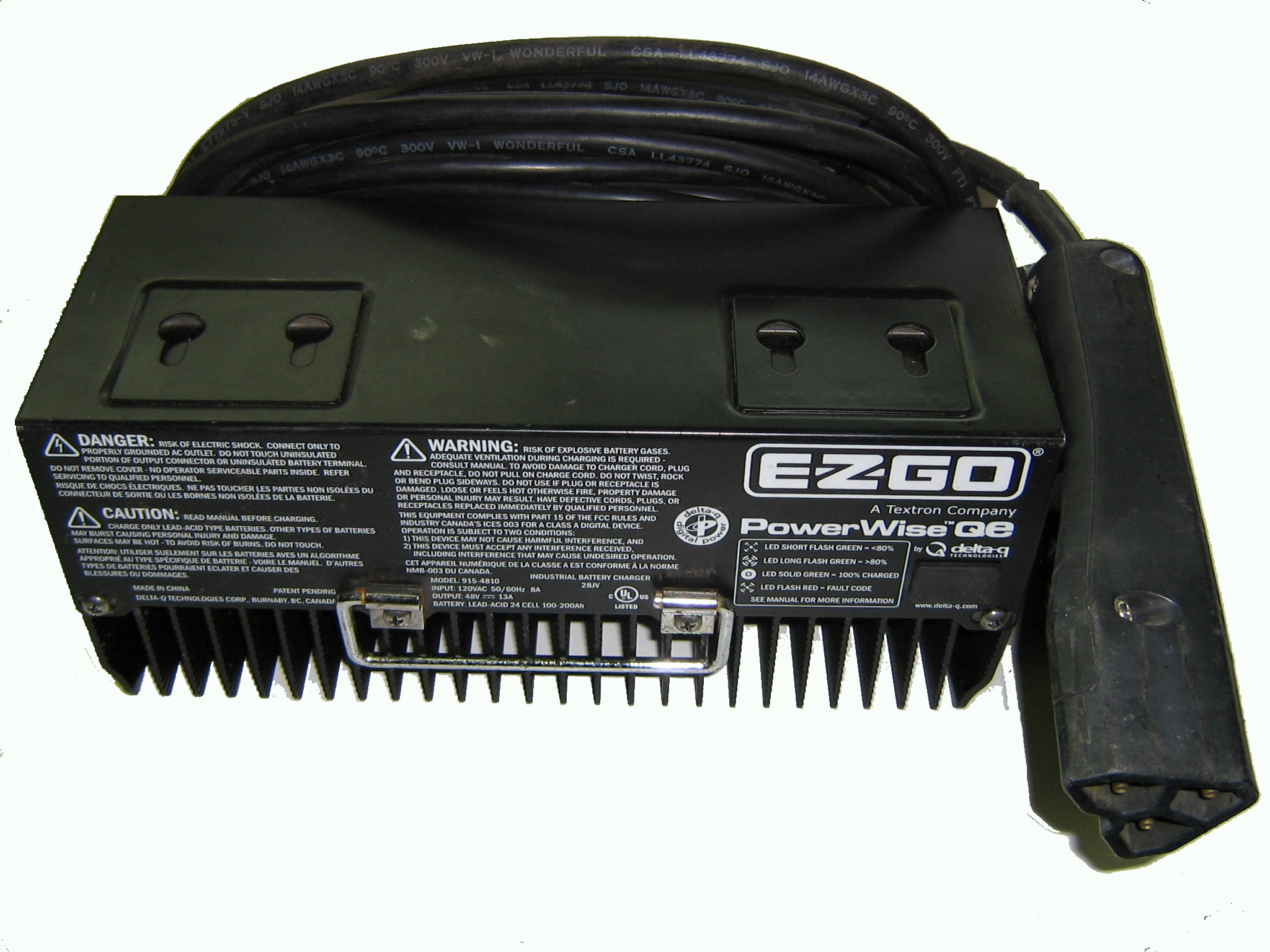 26 Ez Go Textron Battery Charger Wiring Diagram