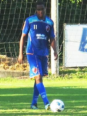 Renato no treino do Flamengo (Foto: Richard Souza / Globoesporte.com)