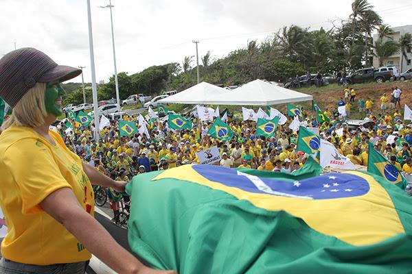 Ato contra Dilma em São Luís-MA