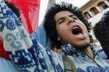 Foto manifestazione a Rabat il 20 febbraio 2011