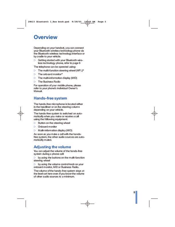 2005 Bmw X5 Radio Manual