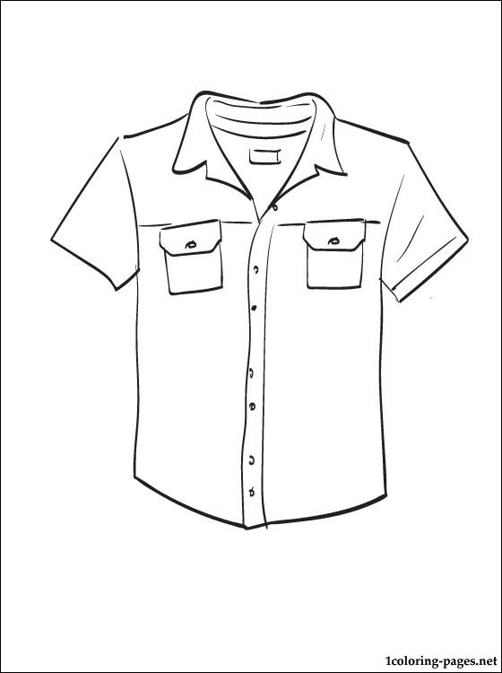 33 T Shirt Coloring Pages Free Printable Coloring Pages