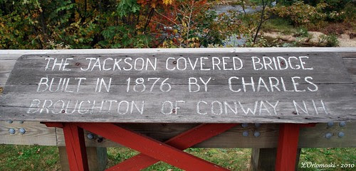Jackson Covered Bridge Sign
