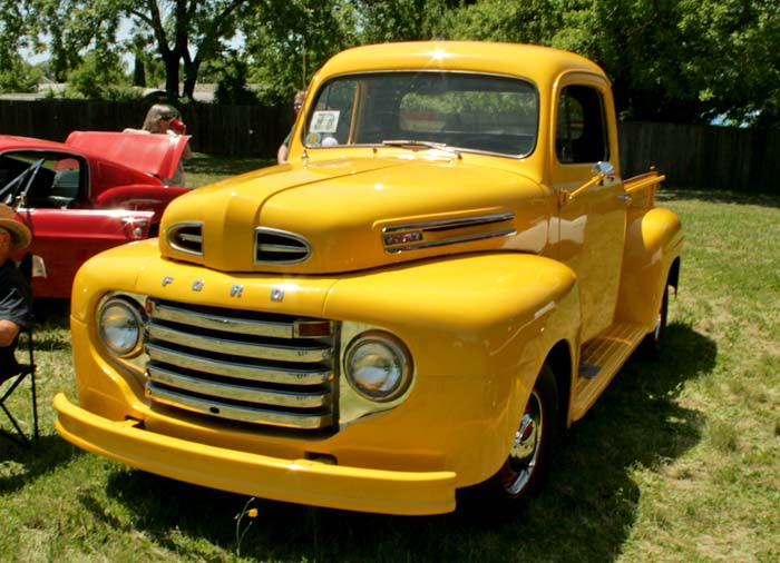 Yellow F-1 Front