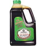 Kikkoman Less Sodium Soy Sauce, 64 Ounce