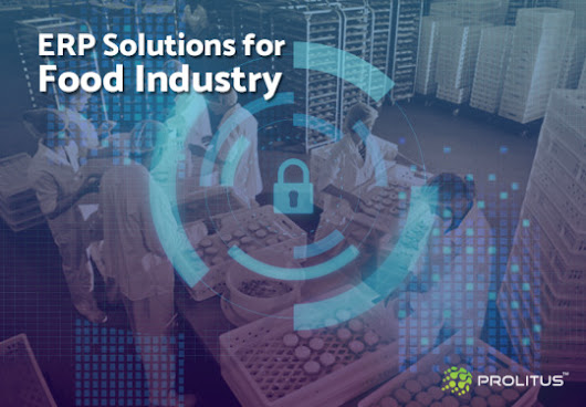 Customized ERP Solutions for Food Industry to Streamline Processes