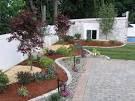 Outdoor & Gardening Image: Garden Modern Front Yard Landscape ...