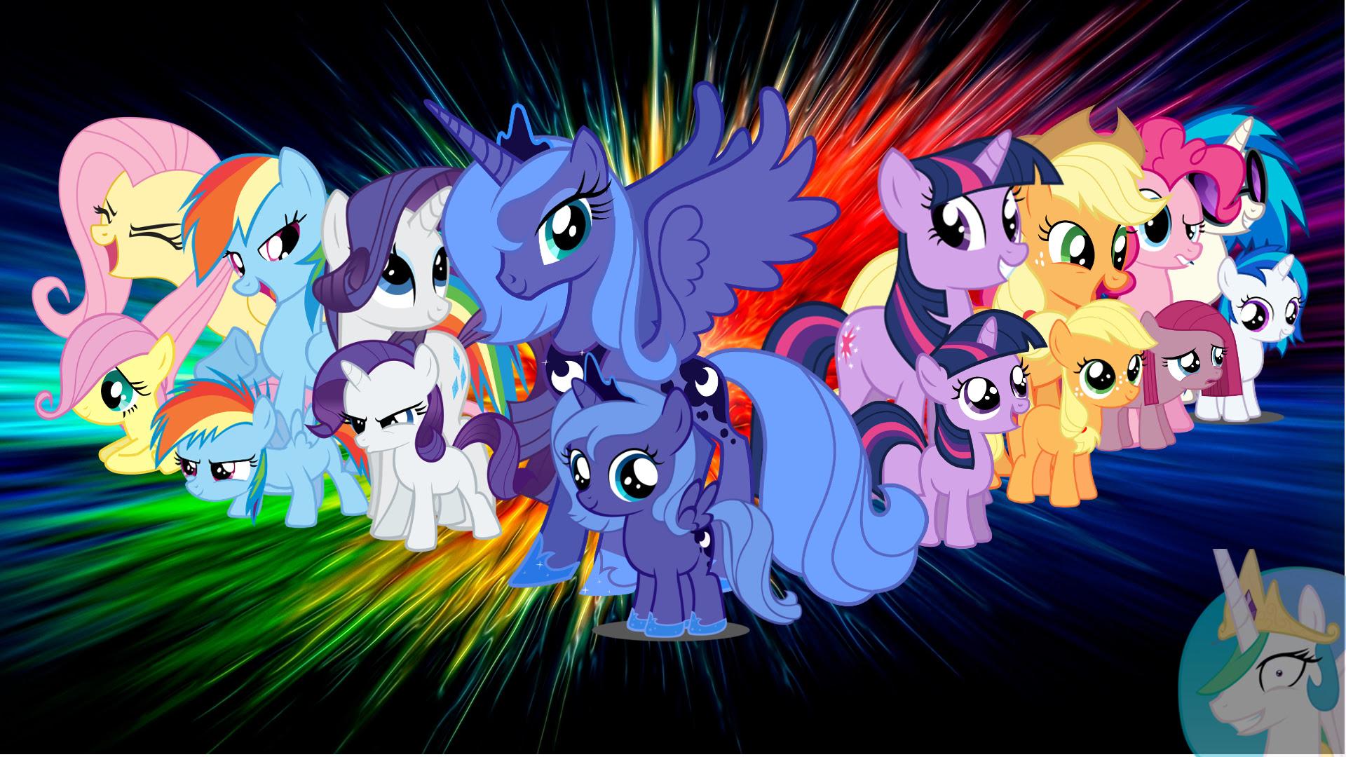 Beautiful My Little Pony Wallpaper 1920x1080 18162