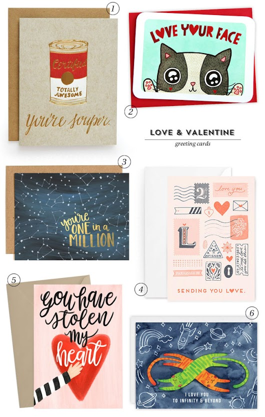 Illustrated Love & Valentine's Day Cards - Paper Crave