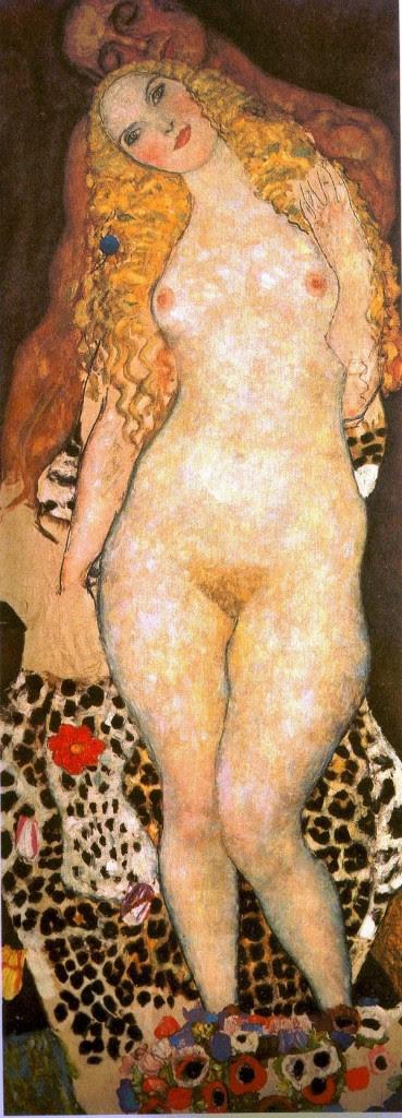 Adán y Eva, de Gustav Klimt