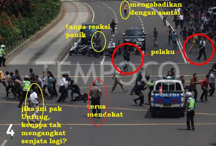 Foto Janggal di Tragedi Bom Sarinah 4