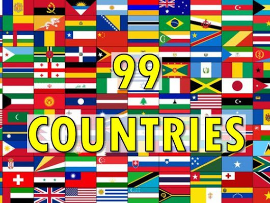 Can You Identify 99 Countries By Their Flags?