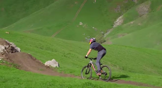 Probably The Most Beautiful Mountain Biking Video You'll Ever See - Digg