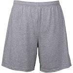 Adult Elastic Waist Shorts Black - Medium GR913485