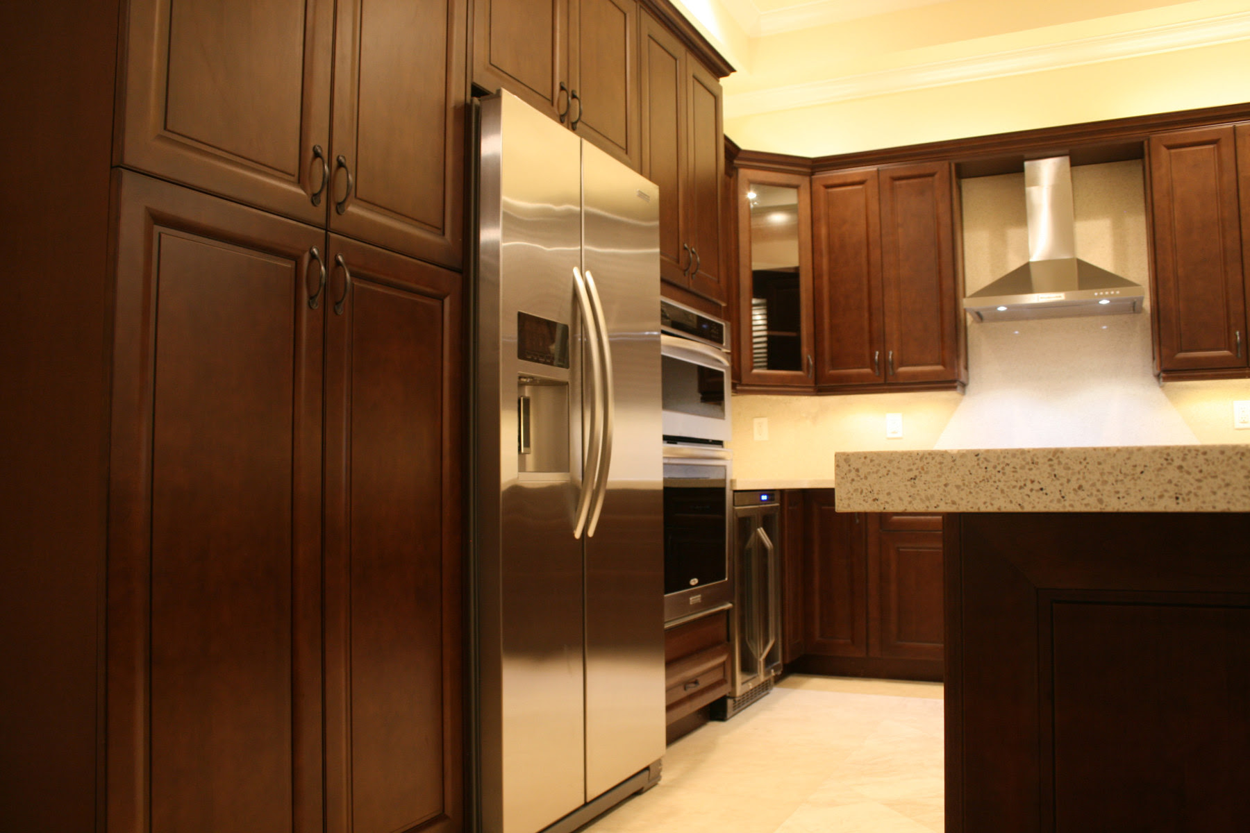ge-slate-appliances-Kitchen-Contemporary-with ...