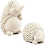 "Bright Creations 4.75"" Paint Your Own Hedgehog, Fun Home Décor and DIY Crafts for Kids, 2 Pack"