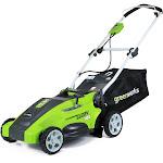 """Greenworks 16"""" 2-in-1 Corded Walk-Behind Mower"""