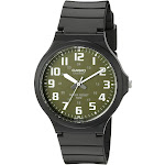 Casio Men's 'Easy to Read' Quartz Black Casual Watch Model MW240-3BV