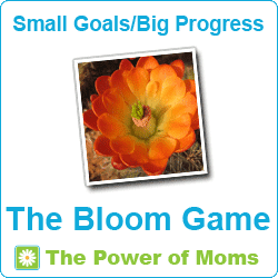 Power of Moms Bloom Game Button