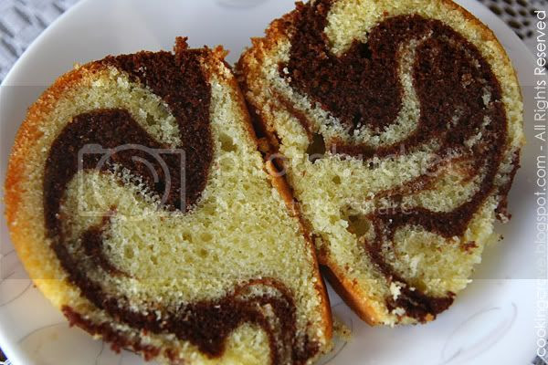 Marble Butter Cake 1
