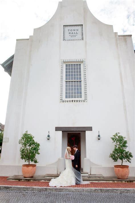 Rosemary Beach Wedding Town Hall   r o s e m a r y . b e a