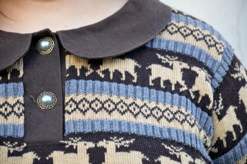 Progetto di cucito: maglione con le renne