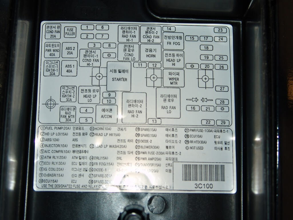 2001 mercury sable fuse box diagram image 6