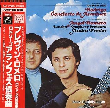 ROMERO, ANGEL & ANDRE PREVIN rodrigo; concierto de aranjuez