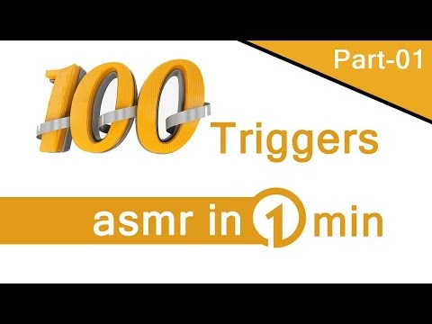 100 triggers asmr in 1 min [Part - 01] Maditation On Sleeping