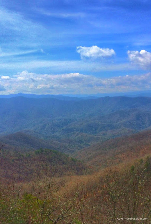 Day 2 in the smokies…….