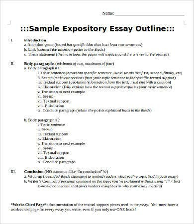 how to write an expository essay x 12