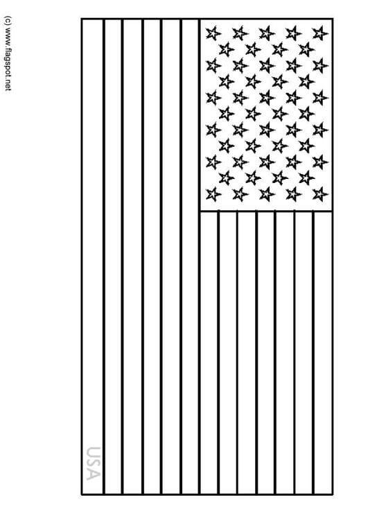 Dibujo Para Colorear Estados Unidos Img 6342