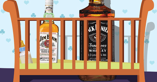 Man named Jack Daniels naturally names newborn son Jim Beam