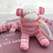 How To Make A Baby Sock Monkey - Tutorial
