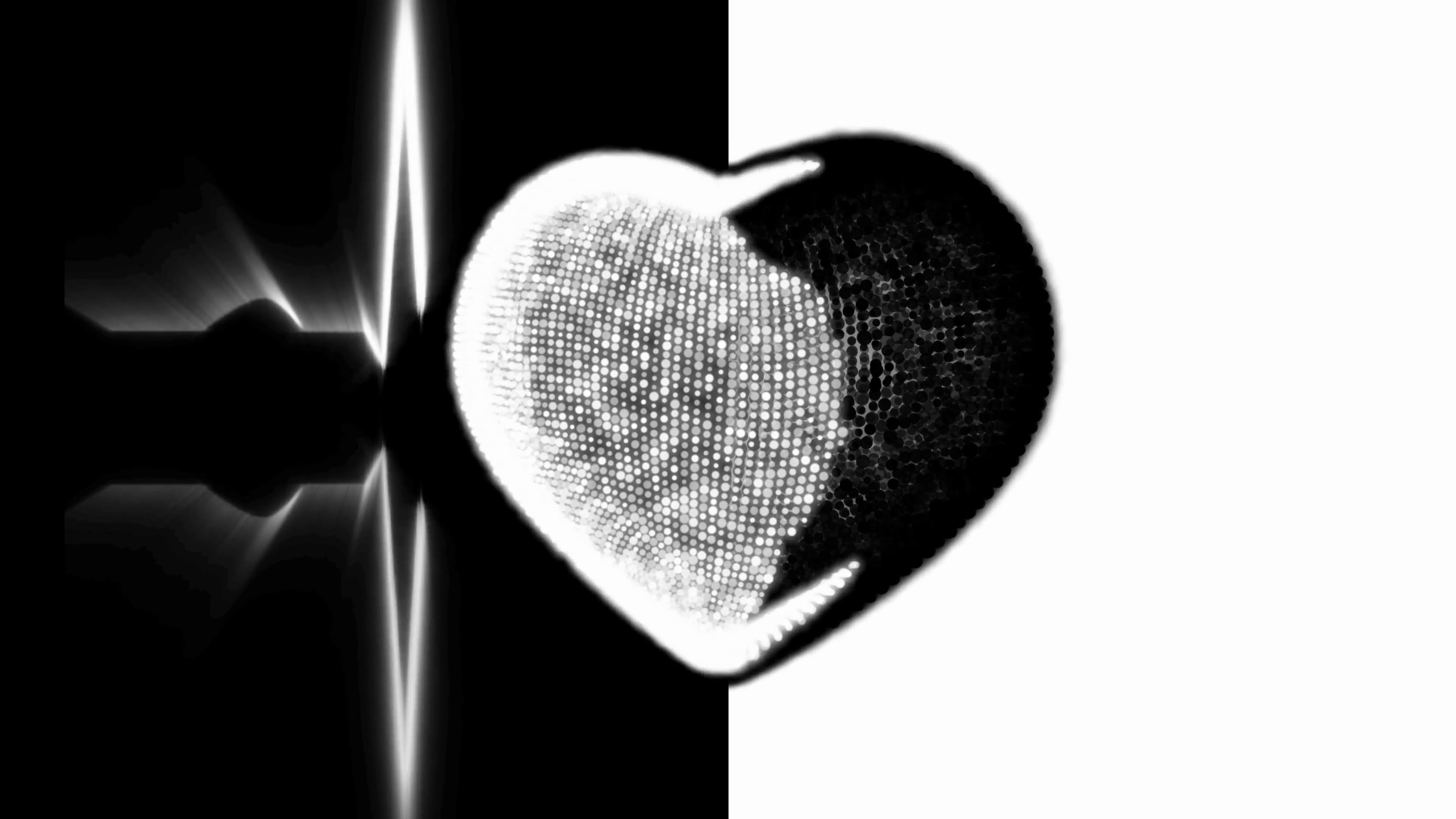 Ideas For Wallpaper Heartbeat Black And White Pictures