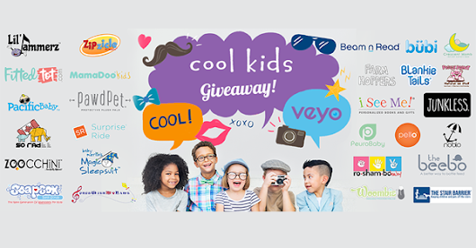 Cool Kids Giveaway + Secret $500 Visa Gift Card Giveaway