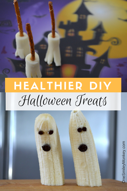 Healthier Halloween Treats DIY