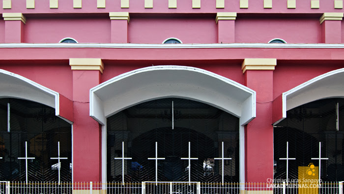 Lines and Curves at Iligan City's Pink Cathedral
