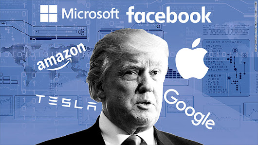 Silicon Valley's impossible balancing act with Trump