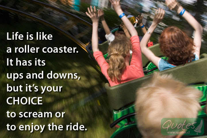 Life Is Like A Roller Coaster Quotes